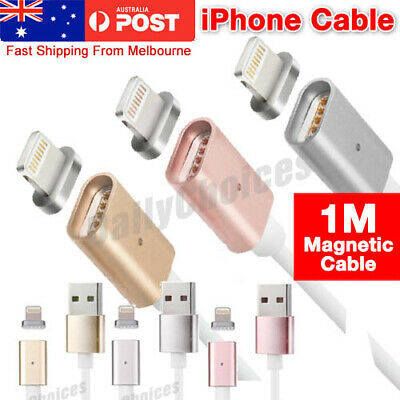 AU9.39 • Buy Magnetic Adapter Charger Cable Charging Fast USB Cord Plug For IPhone XS X IPad
