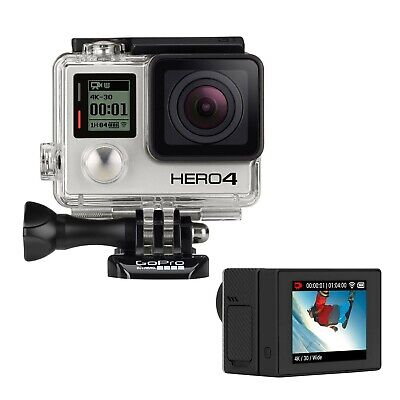 View Details GoPro HERO4 Black Action Camera Camcorder Certified Refurbished + New LCD BacPac • 149.99£