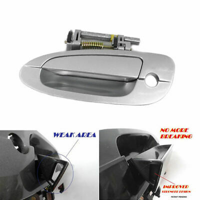 $20.82 • Buy For 2002-2006 Nissan Altima Outer Door Handle KY1 Silver Front Left B3767