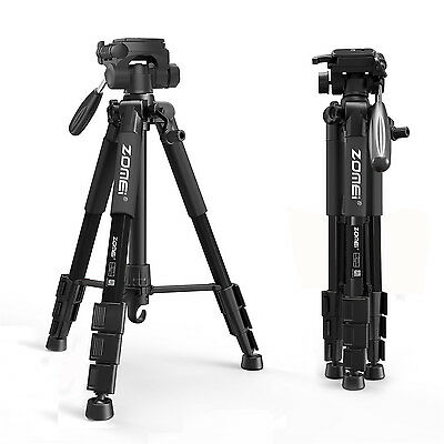 AU27.54 • Buy ZOMEI 55 Professional Tripod Fluid Head Travel For DSLR Digital Camera Camcorder