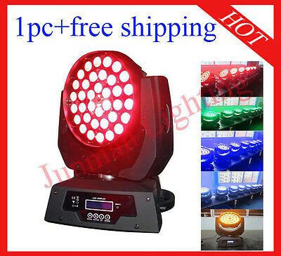 £253 • Buy 1pc 36*18W RGBWAP 6 In 1 Led Moving Head Zoom Moving Head Wash Free Shipping
