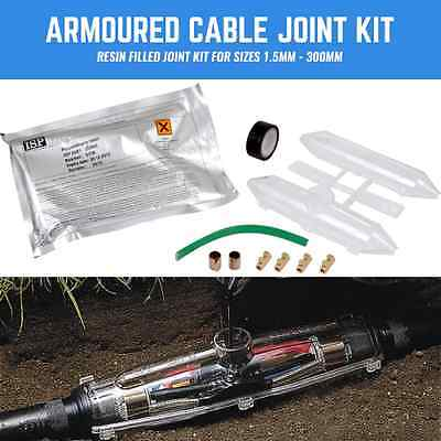 £13.13 • Buy Armoured Cable Joint Kit Swa Cable Resin Filled Joint 1.5mm- 300mm 2 Core-4 Core