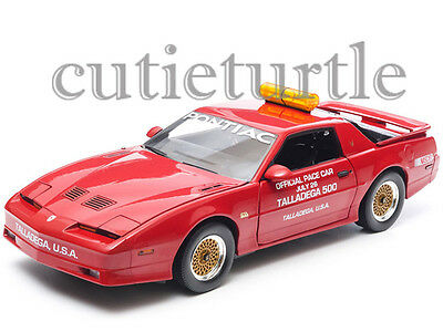 $29.80 • Buy Greenlight 1987 Pontiac Firebird Trans Am GTA Talladega 500 Pace Car 1/18 12859