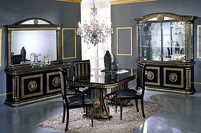 Versace Design Italian Living Or Dining Room Furniture  • 350£