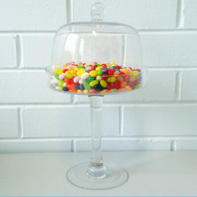 New Candy Lolly Cake Buffet Apothecary Glass Jar Lid Stand Wedding Party Event A • 9.78£