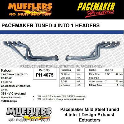 AU952 • Buy Pacemaker Headers Suitable For Falcon XR To XF 4V Cleveland 1 3/4 Headers