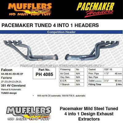 AU1239.08 • Buy Pacemaker Headers Suitable For ZF ZL Fairlane 4V Cleveland 1 7/8 Headers