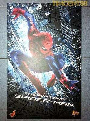 AU536.52 • Buy Hot Toys MMS179 1/6 The Amazing Spider-Man Spiderman Andrew Garfield Figure New