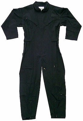 $55.99 • Buy Mens Rothco Black Flightsuit  Jumpsuit Coverall  Sizes Small To 6 Xl Available
