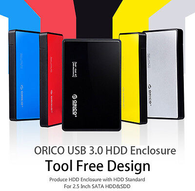 AU19.99 • Buy ORICO Toolless USB 3.0 To 2.5 Inch SATA External Hard Drive HDD SSD Enclosure