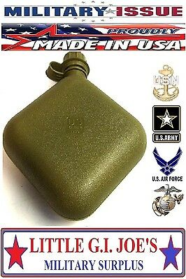 $ CDN12.07 • Buy NEW Military Issue 2Qt Canteen 3Pc Olive Drab Green US MADE Rothco 601