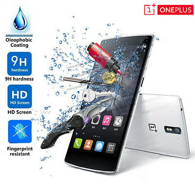 AU3.99 • Buy Tempered Glass Film Screen Protector For OnePlus One 1+1 /OnePlus Two 2 3 Five 5