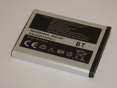 £5.85 • Buy AB483640BE NEW Replacement Battery For Samsung S8300 C3050 J600 B3210 E200 E830