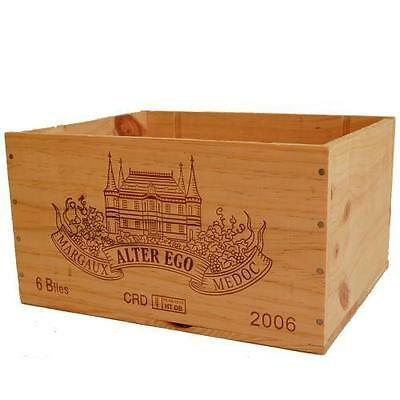 £13.95 • Buy French Wooden Wine Box - Chicken / Poultry Nesting Nest House Idea?