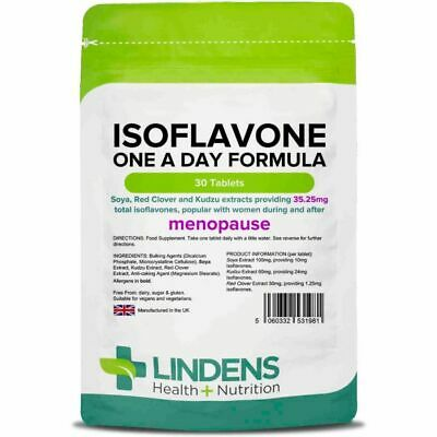 Isoflavone; Soy/soya + Red Clover; 30 Tablets, Alternative In Menopause • 5.15£