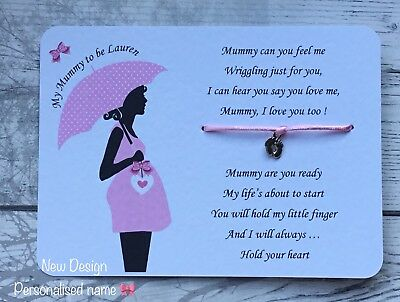 Mummy To Be Card, Baby Bump, Pregnancy, New Baby, Baby On The Way, Sash Gift • 3.25£