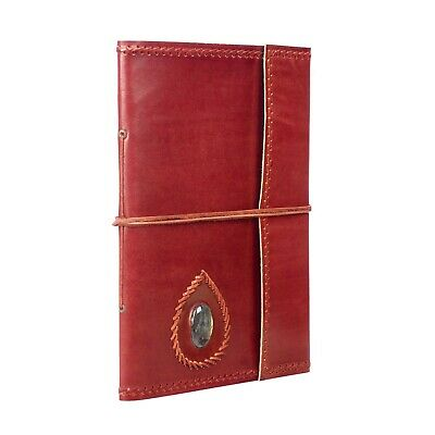 £24.95 • Buy Fair Trade Extra Large Stitched And Stoned Leather Photo Album - 2nd Quality