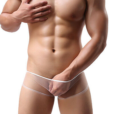 £4.65 • Buy Men's Sexy Underwear See Through Funny Boxer Shorts  (Waist 29  To 39 )   #157