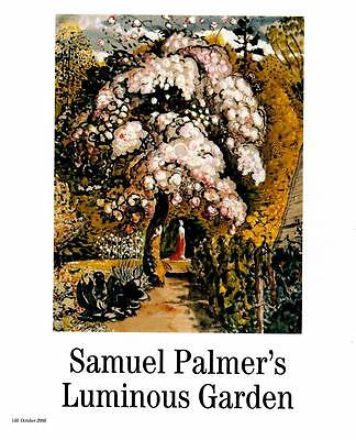 Samuel Palmer: Luminous Garden- Painting- Magazine Art Print • 12.98£