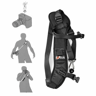 AU11.86 • Buy Shoulder Belt Neck Rapid Strap For Panasonic Lumix DMC-GM5 DMC-GH4 DMC-FZ70 /SX