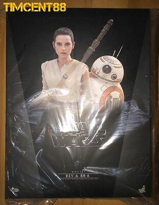 $ CDN571.94 • Buy Ready! Hot Toys MMS337 Star Wars EP VII The Force Awakens 1/6 Rey And BB-8 Set