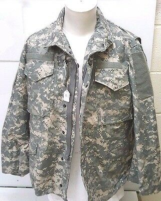 $49.99 • Buy ACU M65 Field Jacket NEW GENUINE US ARMY DIGITAL MADE IN USA Sizes M/Long,L/Long