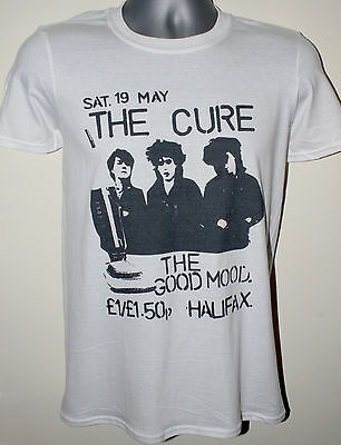 The Cure T-shirt Gig Flyer 1980 Joy Division Siouxsie And The Banshees Sioux Can • 10.99£