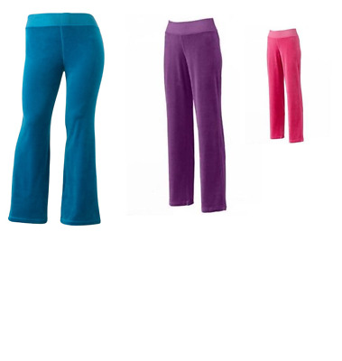 $11.25 • Buy Women's Tek Gear Velour Pants Multiple Colors And Sizes New With Tags