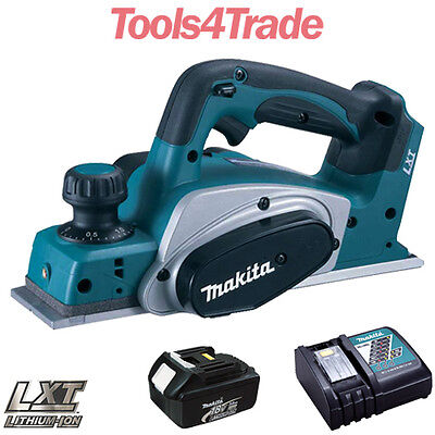 Makita DKP180Z 18V LXT Li-ion 82mm Planer With 1 X 3.0Ah Battery & Charger • 215£