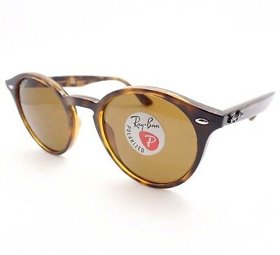 69a27acc612fe AUTHENTIC Ray Ban RB 2180 710 83 49mm Dark Havana Brown Polarized Sunglasses  New •