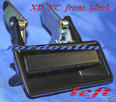 AU79.95 • Buy FORD FALCON XB XC BLACK OUTER DOOR HANDLE LEFT Sedan Or Coupe NEW