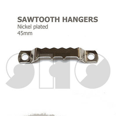 Picture Hoocks - SawTooth Hanger 45mm For Picture Hanging • 1.75£