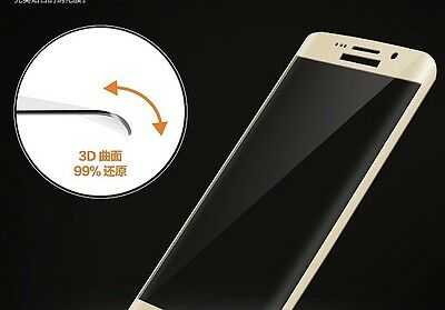 $ CDN6.46 • Buy Samsung Galaxy S7 Edge FULL Curved CLEAR 3D Tempered Glass LCD Screen Protector