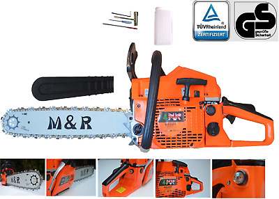 Petrol Chainsaw 58cc 20    M&R BRAND Easy Recoil Starter With Extra Chain  • 85.79£