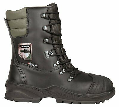 Cofra Power Mens Safety Boots Chainsaw Protection Class2 Steel Toe Cap Forestry  • 99.33£