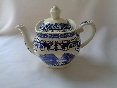 $26 • Buy Maastricht Cambridge Old England  Made In Holland Blue Individual Coffee Pot