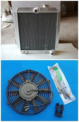 AU230.09 • Buy For Chevy Pickup Truck 1947-1954 AT/MT 49 50 Aluminum Radiator + FAN 51 52 53 54