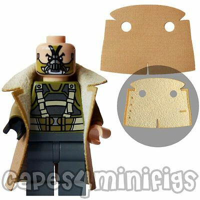 CUSTOM Coat - Ideal For Your Lego Bane 76001 Batman Character. CAPE ONLY. • 1.95£
