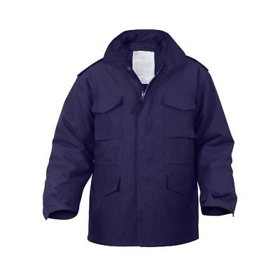 $94.99 • Buy Mens Jacket - M-65 Field With Liner, Navy Blue By Rothco MENS ARMY JACKET S -4X
