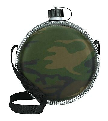 $ CDN15.01 • Buy Canteen 2-qt. Camo Great For Camping And Hiking Rothco 174