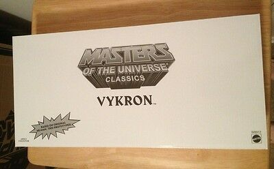 $75 • Buy 2012 SDCC Exclusive: He-Man & Masters Of The Universe - Vykron + Comic 30th