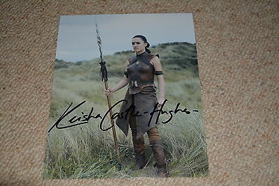 $ CDN72.78 • Buy KEISHA CASTLE-HUGHES Signed Autograph In Person 8x10 20x25 Cm GAME OF THRONES