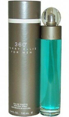 $22.99 • Buy 360 For Men By Perry Ellis Cologne 3.3 Oz  3.4 Oz 100 Ml New In Box