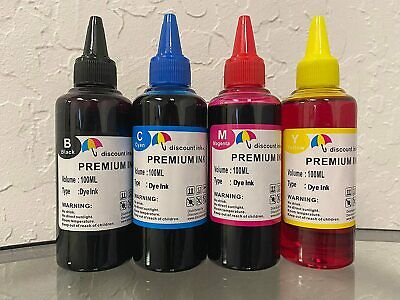 AU21.06 • Buy Refill Ink Kit For All Canon Printer Cartridge 4X100ML