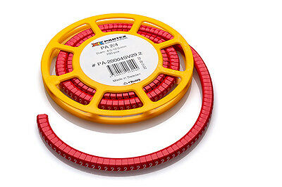 £7.50 • Buy Partex PA2 (Size D) Cable Markers, Colour Coded, Disc Of 250