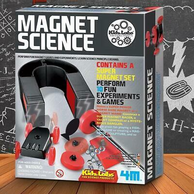 AU34.99 • Buy 4M Kidz Magnet Science Experiment Kit Fun Game Learn School Educational Toy