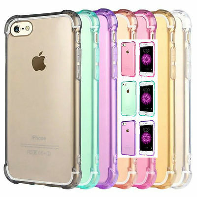 AU4.99 • Buy Shockproof IPhone 5 6S 7 / 8 Plus XS Max XR Slim Soft Gel Case Cover For Apple