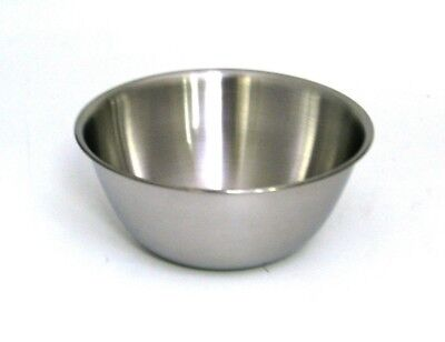 Professional Mixing Bowl Stainless Steel 26cm Catering Cake Dough Bowl  • 5.99£