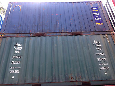 AU4190 • Buy 20ft USED SHIPPING CONTAINER