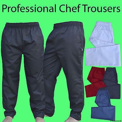 £10.99 • Buy Professional Chef Trousers 3 Pockets Excellent Quality Pants  UNISEX Work Wear